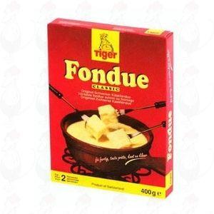 Käsefondue fertig - Tiger Fondue 400 gramm