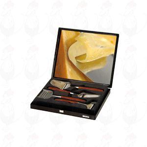 4 schwarze Geschenkbox, Flugzeug-, Dessert-Hobel, Reibe und Hobel jungen De Luxe Rosenholz