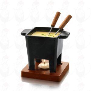 Boska Tapas Schokoladenfondue Set - Käsefondue Set Schwarz