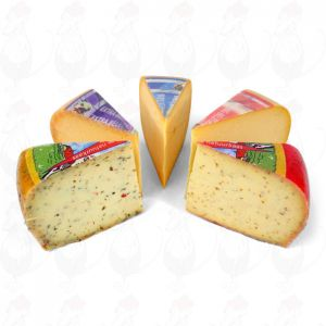 Große Fettarmen Käse-Paket