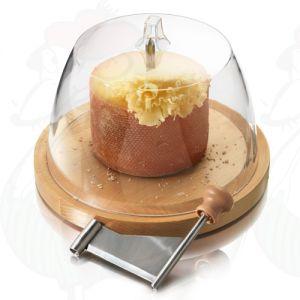 Kombi-Paket: Käsehobel + Tête de Moine + Kuppel