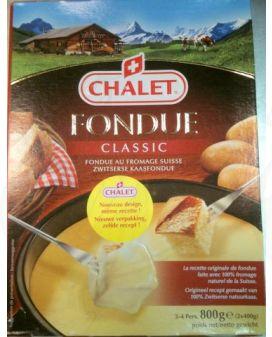 Käsefondue fertig - Chalet Fondue 800 gramm